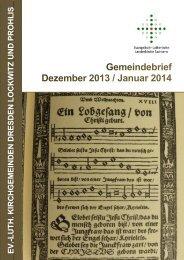 Gemeindebrief - gesamt - Kirche Prohlis