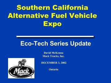 Engine - Low Carbon Fuels Conference Series
