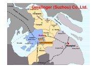 Suzhou maps - Geislinger