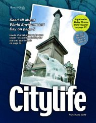 Citylife May/June - Sitelines