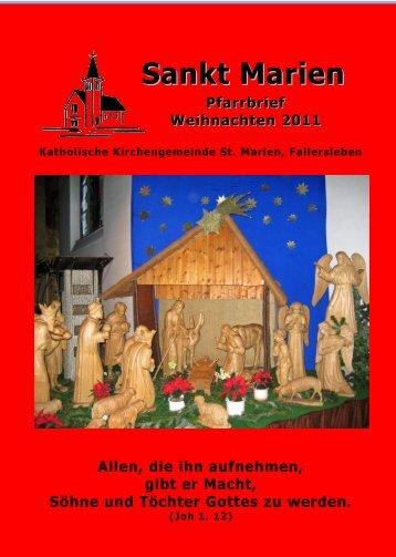 Sankt Marien - St. Marien Fallersleben