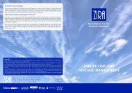 ZIRA BILLING AND REVENUE MANAGEMENT