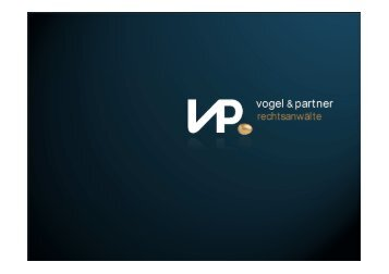 Cloud Computing Und Compliance - Vogel & Partner