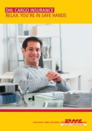 Download DHL Cargo Insurance Flyer
