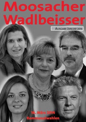 neue Ausgabe des Moosacher Wadlbeisser, Januar ... - SPD Moosach