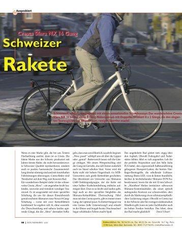 Schweizer Rakete Cresta Sfera NX 16 Gang