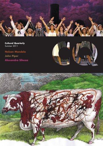 Summer 11 - Cultural Quarterly Online