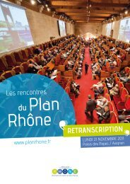 RETRANSCRIPTION - Région Rhône-Alpes