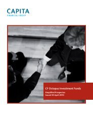 CF Octopus Investment Funds - Octopus Investments