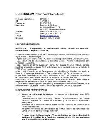 CV FS Español 2010 - Instituto de Higiene