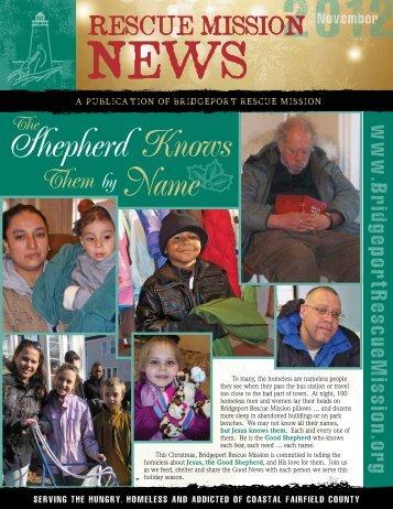 November / December 2012 - Bridgeport Rescue Mission