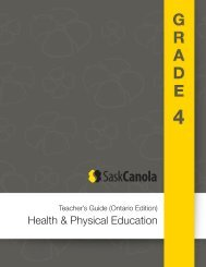 Health & Physical Education - SaskCanola