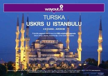 turska - istanbul- uskrs-avionom (~639k) - Wayout