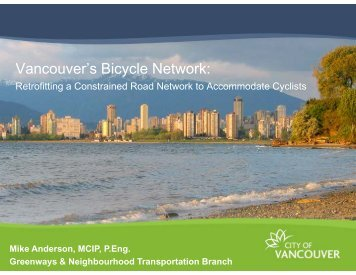 Vancouver's Bicycle Network - Citevancouver.org