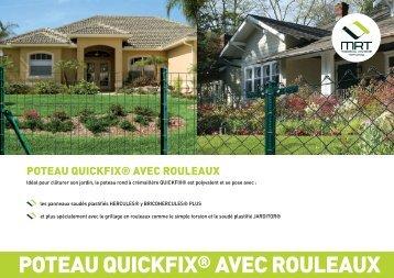 POTEAU QUICKFIX® AVEC ROULEAUX - Produits