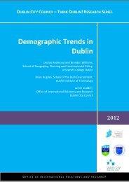 Demographic Trends in Dublin - Creative Dublin Alliance