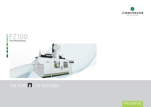 FZ100 - Portal Milling Machine - galika