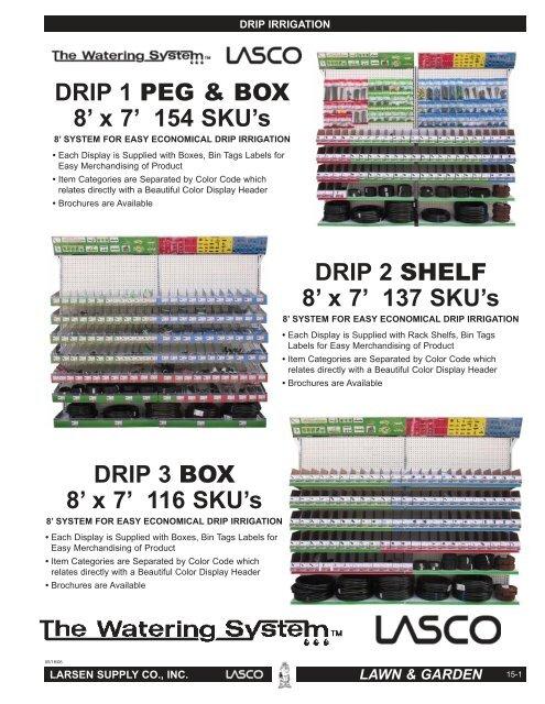 LASCO 15-8172P Adjustable Stream Drip Bubbler 1//2 Circle 5-Pack