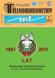 11'2011 - Wojskowy Instytut Łączności