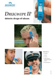 detects drugs-of-abuse. - Drug Test