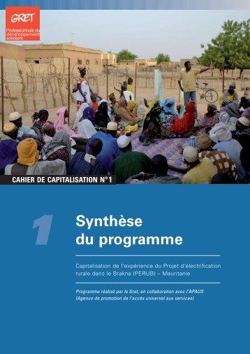 Cahier n°1 - RIAED | Réseau international d'accès aux énergies ...