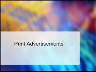 Preparing Pring Advertisements - iMAG