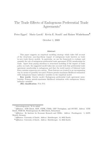 1 the effect of preferential trade agreement the case of brazil and the trade effects of endogenous preferential trade agreements platinumwayz