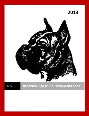 Brockton high school scholarship book - Brockton Public Schools