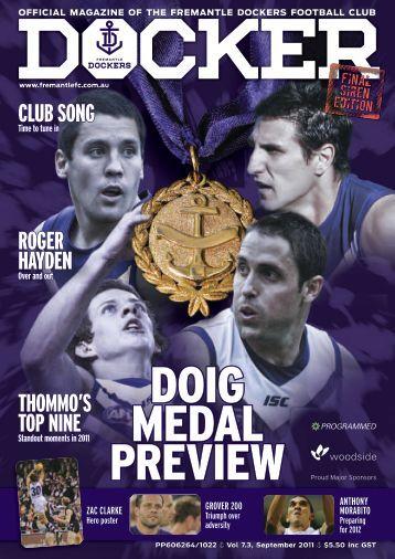 FD433a Docker - Member Magazine Issue 03, 2011 - Fremantle ...