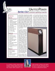 Download a CLI brochure in PDF format. - Power & Systems ...