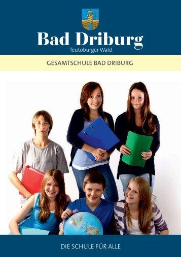 Download der Broschüre Gesamtschule - Bad Driburg