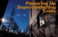 Powering Up Superconducting Cable - EPRI ... - Interstate Traveler