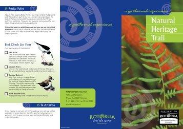 Natural Heritage Trail - Rotorua