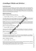 Grundlagen Häkeln und Stricken - Seite 3