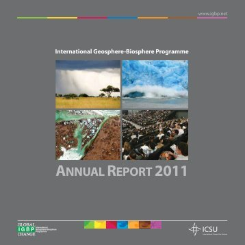 Annual Report 2011 - IGBP