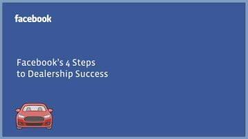 Facebook's 4 Steps to Dealership Success - OfferLogix