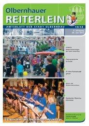 Olbernhauer Straßenfest am 16. Juni Cd-Aufnahme des ...