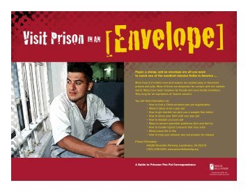 Visit Prison in an Envelope - Prison Fellowship