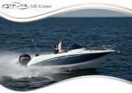 Galia 630 Cruiser - Katalog DE - Galeon by HW BOOTSCENTER