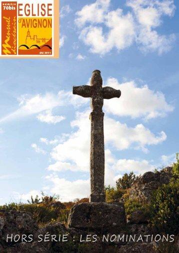 numéro été 2011 - Diocèse d'Avignon