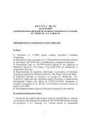 DECIZIA NR. 123 din 13.04.2004 privind autorizarea ajutorului de ...