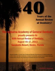 The Alabama Academy of General Dentistry - ALAGD.org