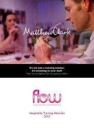 Flow Brochure - Matthew Clark