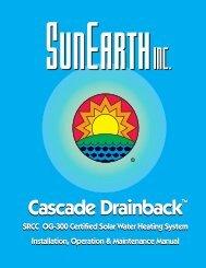 Cascade Install Manual - SunEarth Inc.