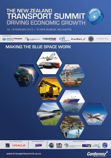 Download brochure - New Zealand Transport Summit 2013