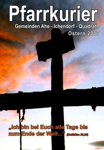 """""""Ich bin bei Euch alle Tage bis zum Ende der Welt ... - St. Michael, Ahe"""