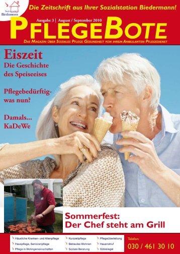 Pflegebote 03/2010 (PDF) - Sozialstation Biedermann GmbH