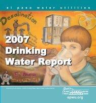 2007 Drinking Water Report - El Paso Water Utilities