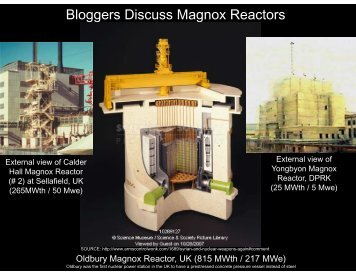 Bloggers Discuss Magnox Reactors - Arms Control Wonk