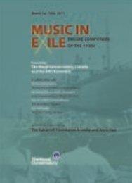 MUSIC IN - ARC Ensemble